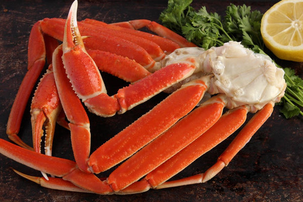 Snow Crab Legs Per Pound - Groomer's Seafood