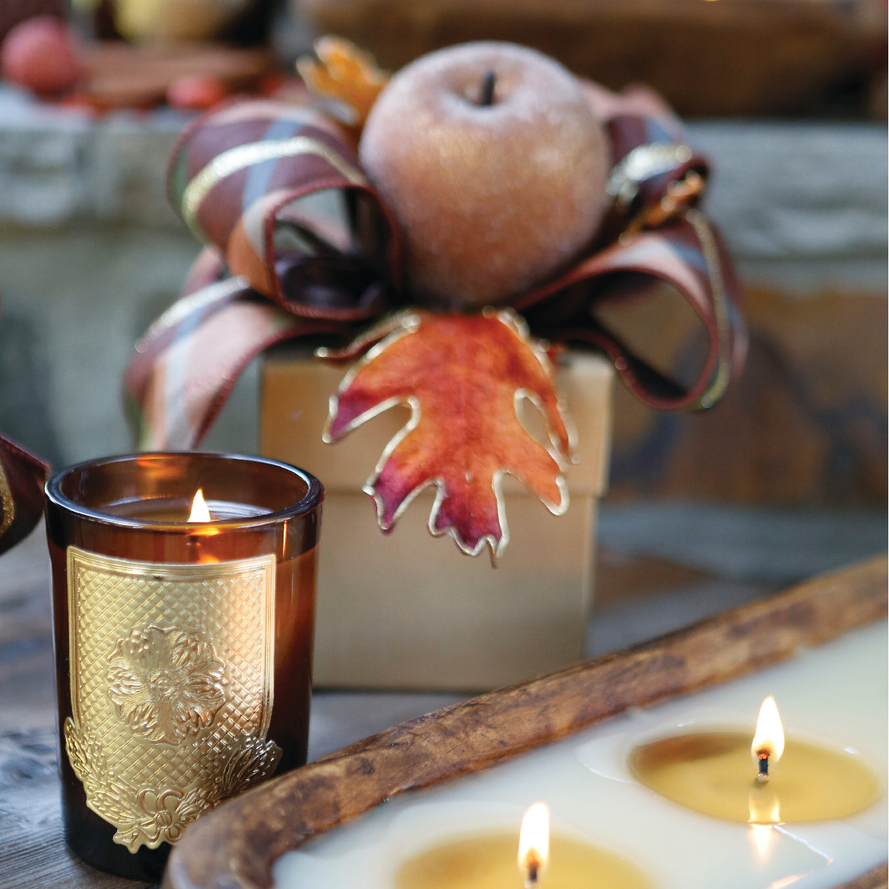 FALL GIFT BOX CANDLES