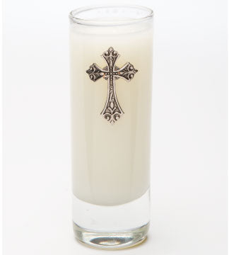 Classics - Faith (Silver) Candle - 02oz. - Lux Fragrances