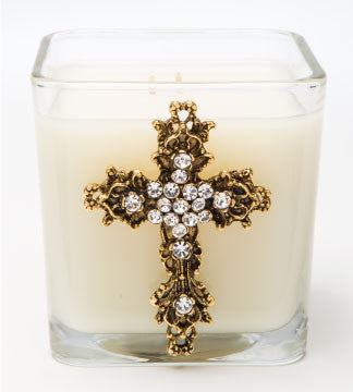 Classics - Faith (Gold) Candle - 20oz. - Lux Fragrances
