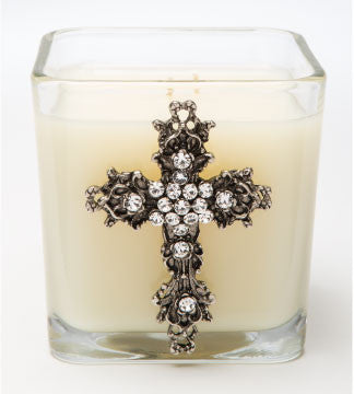 Classics - Faith (Silver) Candle - 20oz. - Lux Fragrances
