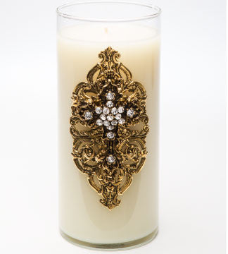 Classics - Faith (Gold) Candle - 32oz. - Lux Fragrances
