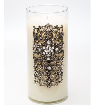 Classics - Faith (Silver) Candle - 32oz. - Lux Fragrances