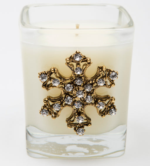 White Christmas - 09oz. square snowflake - Lux Fragrances