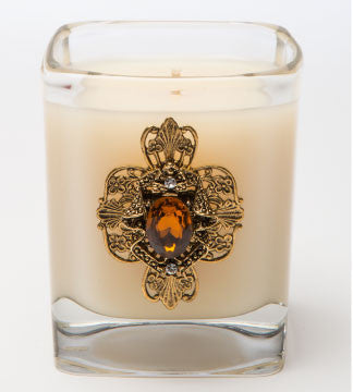 Classics - Amber D'Lux Candle - 09oz. - Lux Fragrances