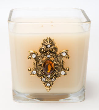 Classics - Amber D'Lux Candle - 20oz. - Lux Fragrances