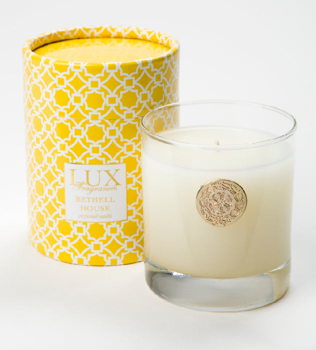 Bethell House - 10oz. At Home Box Candle - Lux Fragrances