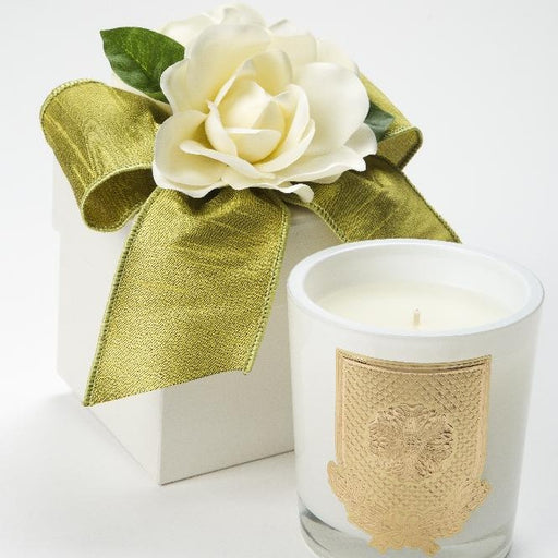 Spring - Cape Jasmine Candle - 14oz. flower box - Lux Fragrances