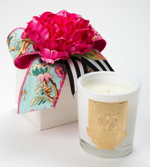 Spring - Della Robbia - 14oz. flower box candle - Lux Fragrances