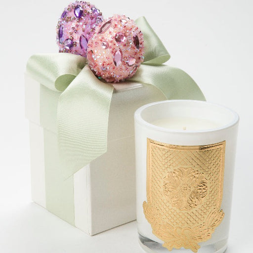 Flower Market Special Edition Easter Gift Box Candle - 08 oz. - Green - Lux Fragrances