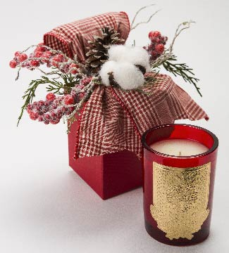 Evergreen - 08 oz. gift box candle - Lux Fragrances