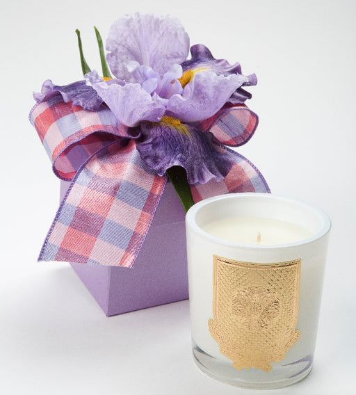 Spring - French Lavender Candle - 14oz. flower box - Lux Fragrances