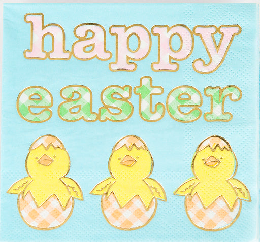 Happy Easter Beverage Napkins - Package of 20 - Lux Fragrances