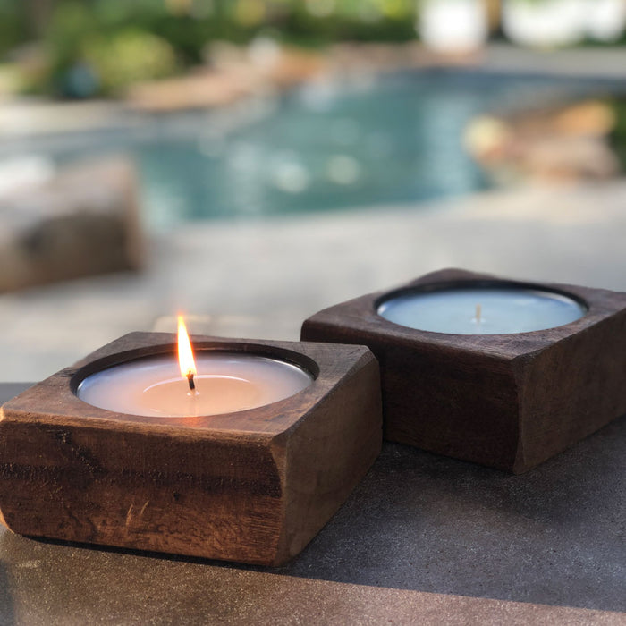 Citronella Pineapple - Single Cheese Mould Candle - Lux Fragrances