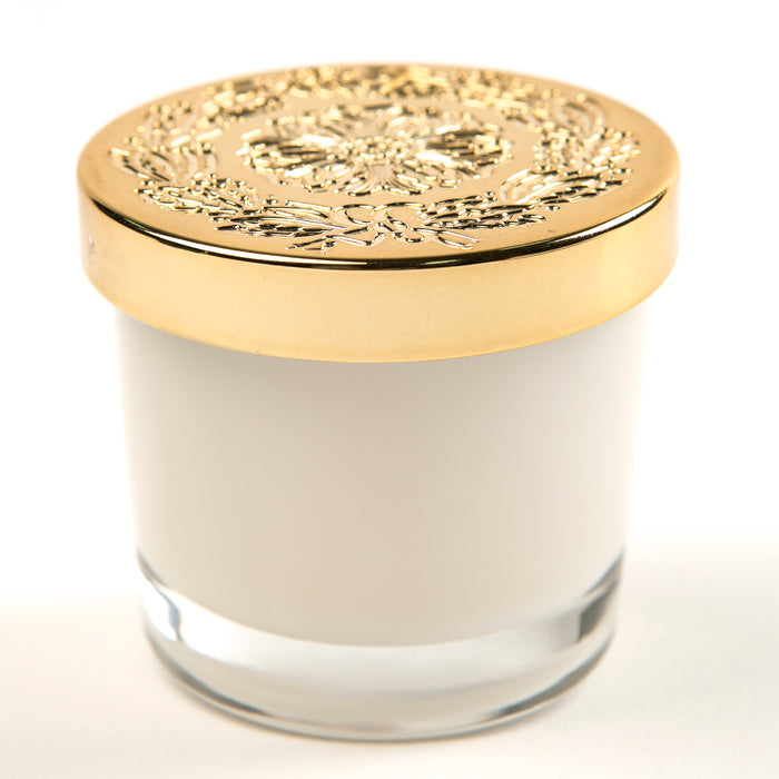 Creme Brulee - Small Lidded Candle - Lux Fragrances