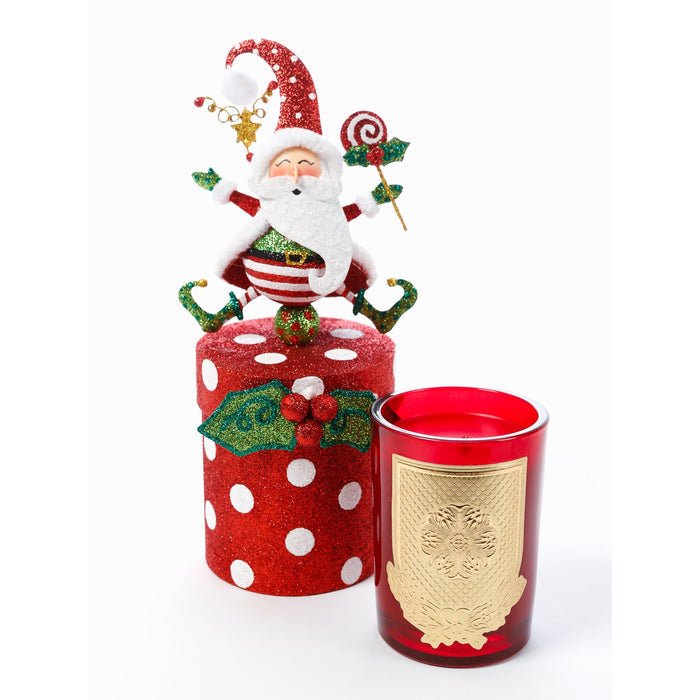 Jolly St. Nick 8oz Gift Box Candle (fragrance Noel)