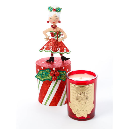 Peppermint Patty 8oz Gift Box Candle (fragrance Home for the Holidays)