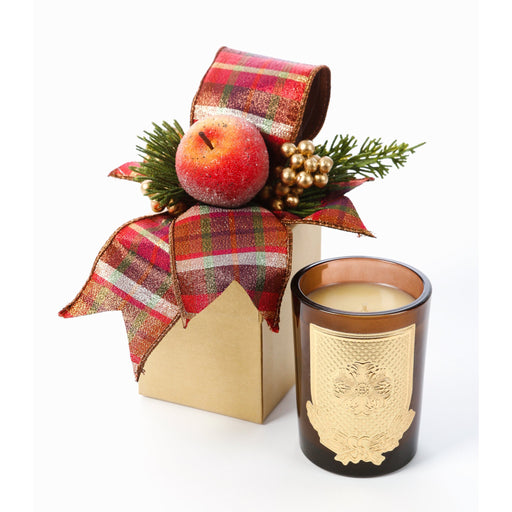 Della Robbia 8oz Fall Gift Box Candle - Lux Fragrances