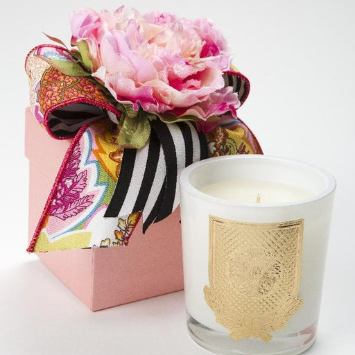 Spring - Lover's Lane Candle - 14oz. flower box - Lux Fragrances