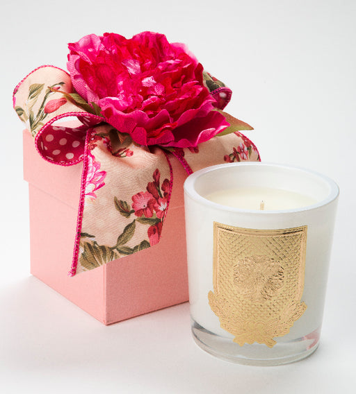 Spring - Veranda - 14 oz. flower box candle - Lux Fragrances
