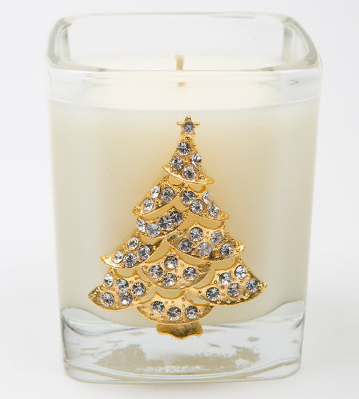 White Christmas - 09oz. square tree - Lux Fragrances