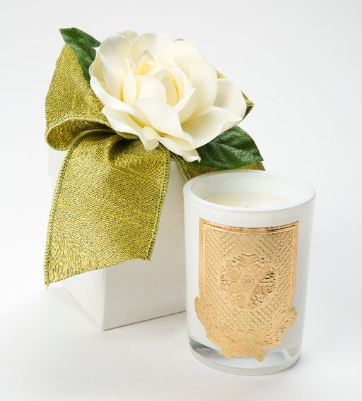 Spring - Cape Jasmine Candle - 08oz. flower box - Lux Fragrances