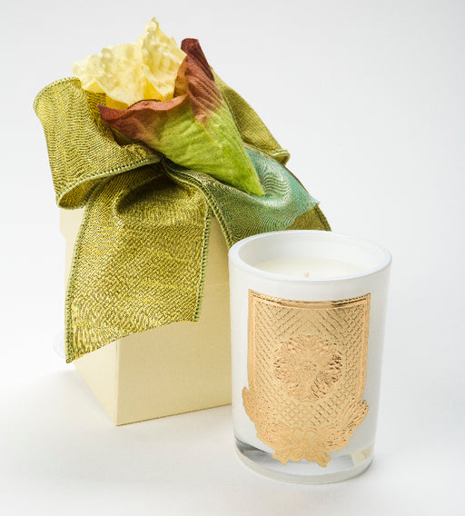 Spring - Citron Candle - 08oz. flower box - Lux Fragrances