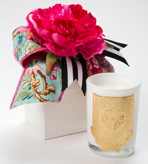 Spring - Della Robbia - 08oz. flower box candle - Lux Fragrances