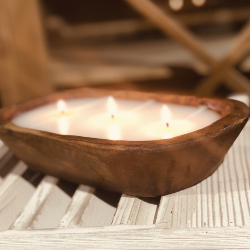 Frankincense and Myrrh 3 wick Dough Bowl Candle