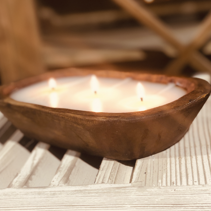 Veranda - Dough Bowl 3 Wick Candle - Lux Fragrances