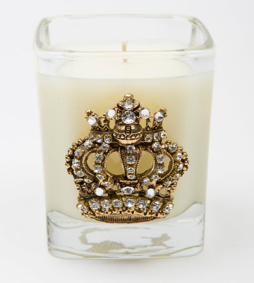 Frankincense and Myrrh - 09oz. square crown candle - Lux Fragrances