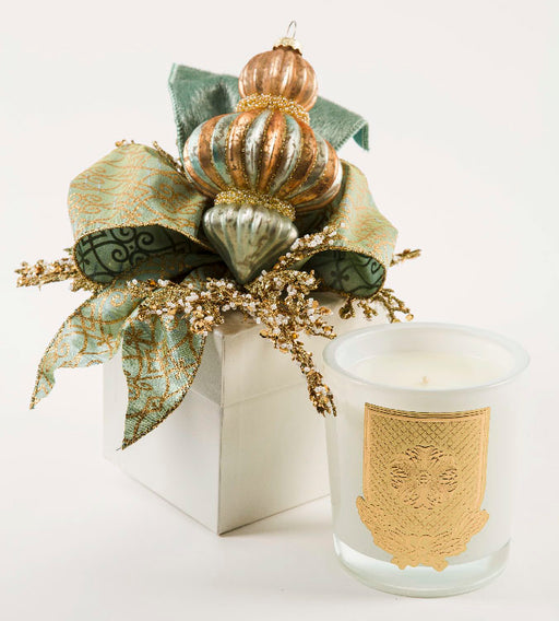 Frankincense and Myrrh - 14oz. gift box candle - Lux Fragrances