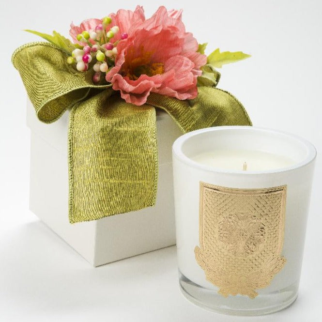Spring - Grapefruit - 14 oz. flower box candle - Lux Fragrances