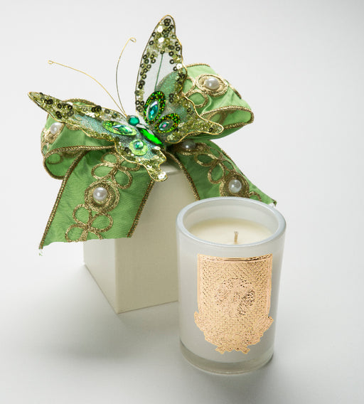 Spring - Lime Blossom Candle - 08 oz. gift box - Lux Fragrances
