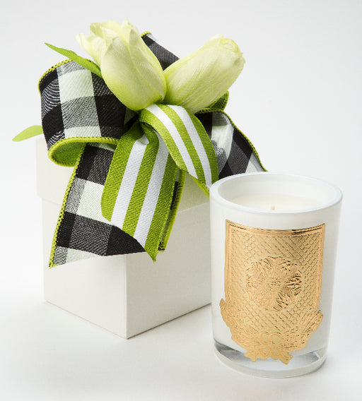 Spring - Lime Blossom Candle - 08oz. flower box - Lux Fragrances