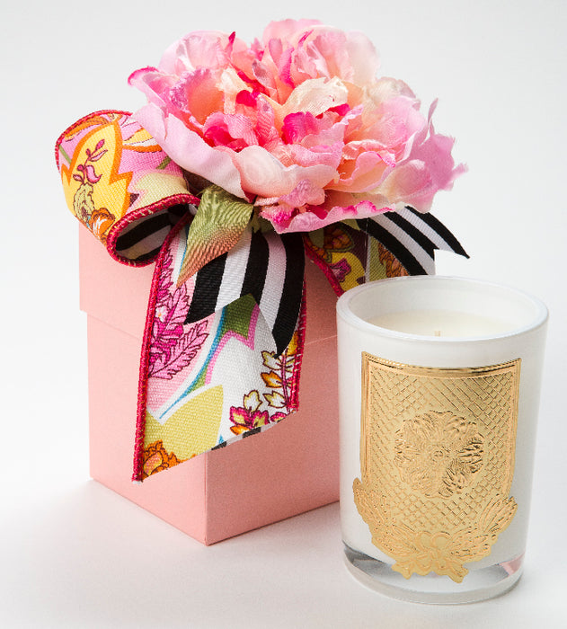 Spring - Lover's Lane Candle - 08oz. flower box - Lux Fragrances