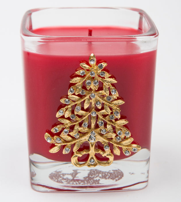 Noel - 9oz. square tree - Lux Fragrances