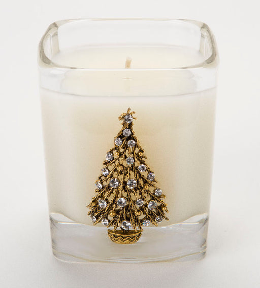 Sleigh Ride - 09oz. square candle (tree) - Lux Fragrances