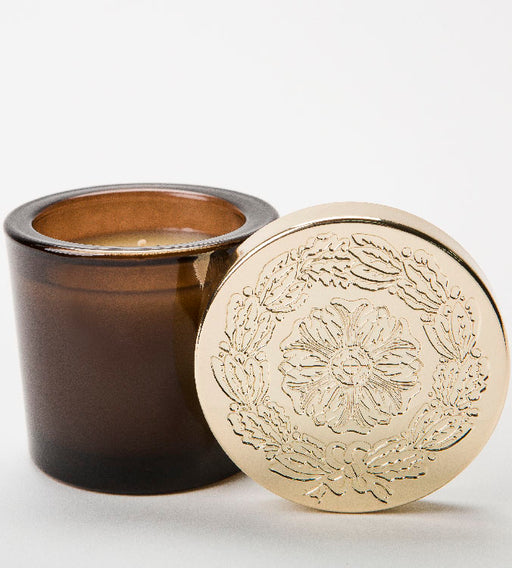 Gilded Peppercorn - Small Lidded Candle - Lux Fragrances