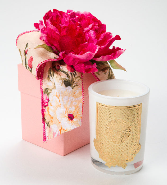 Spring - Veranda - 08 oz. flower box candle - Lux Fragrances