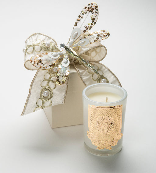Spring - Cape Jasmine Candle - 08 oz. gift box - Lux Fragrances