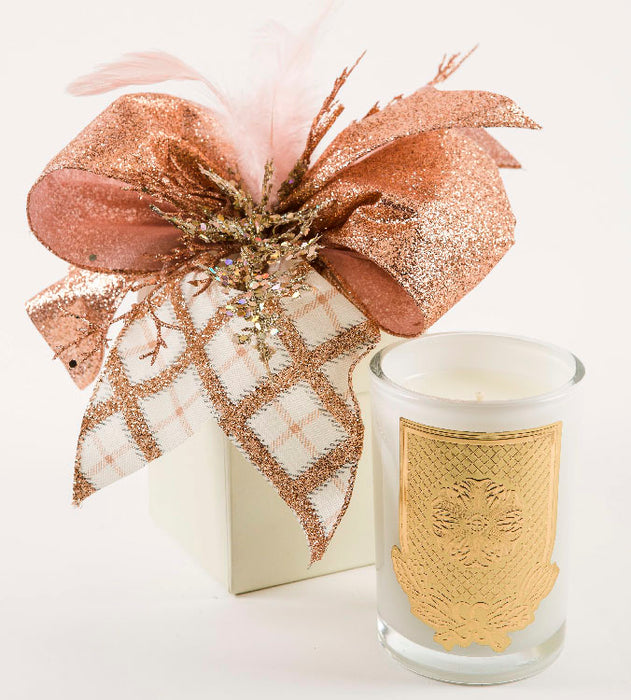 White Christmas - 08oz. gift box candle - Lux Fragrances