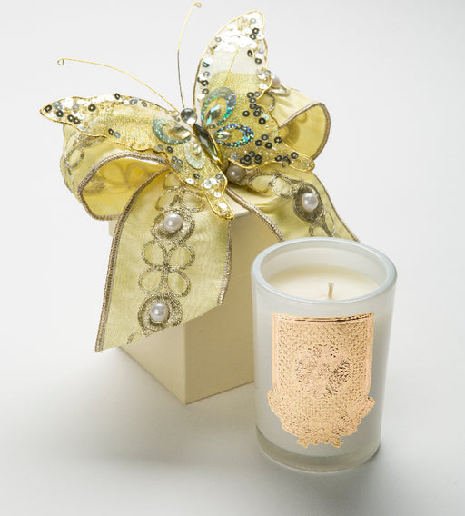 Spring - Citron Candle - 08 oz. gift box - Lux Fragrances