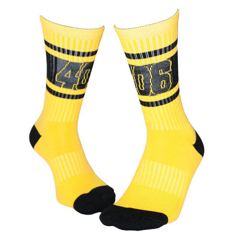 406 Athletic Crew-Yellow Gold/Black