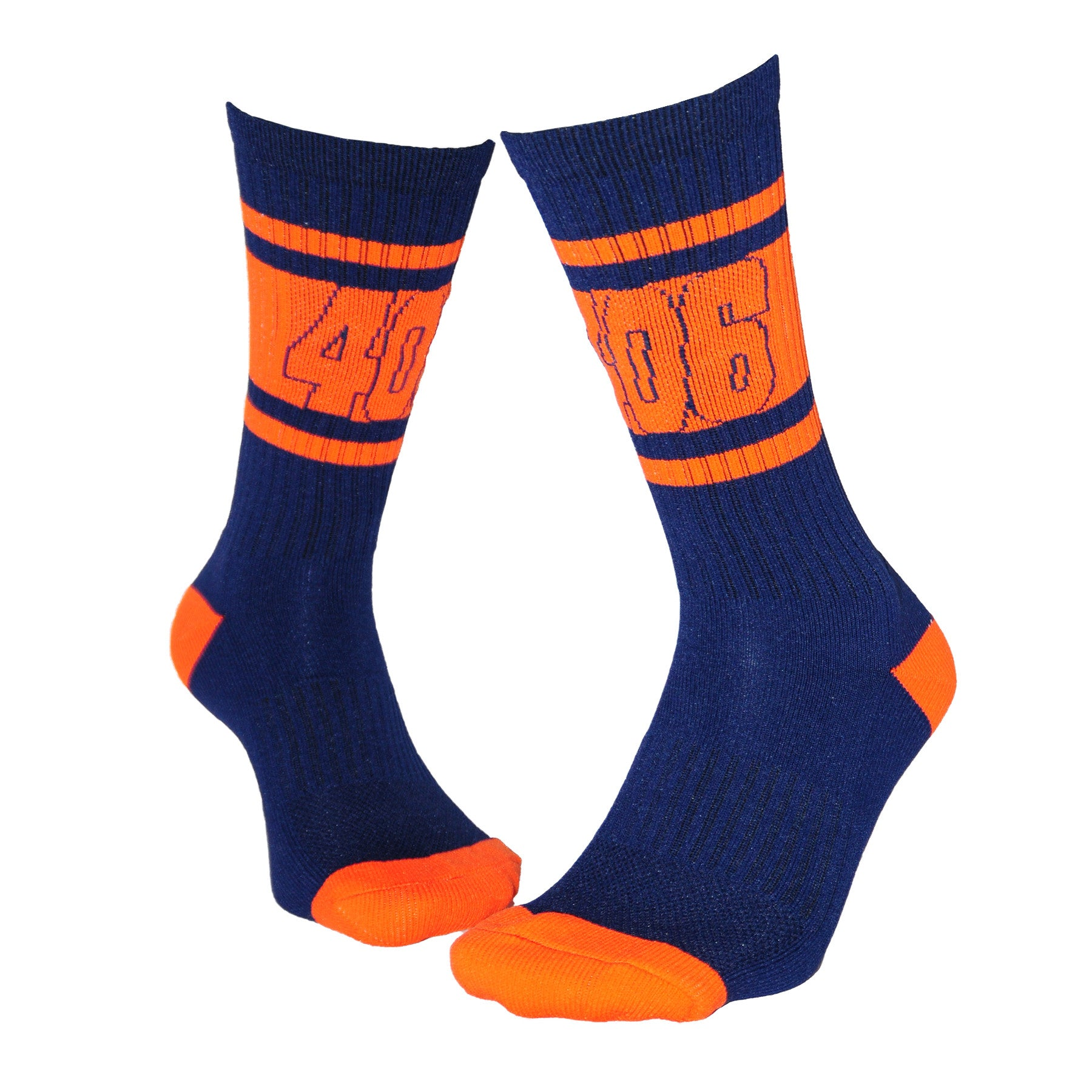 406 Athletic Crew-Navy/Orange