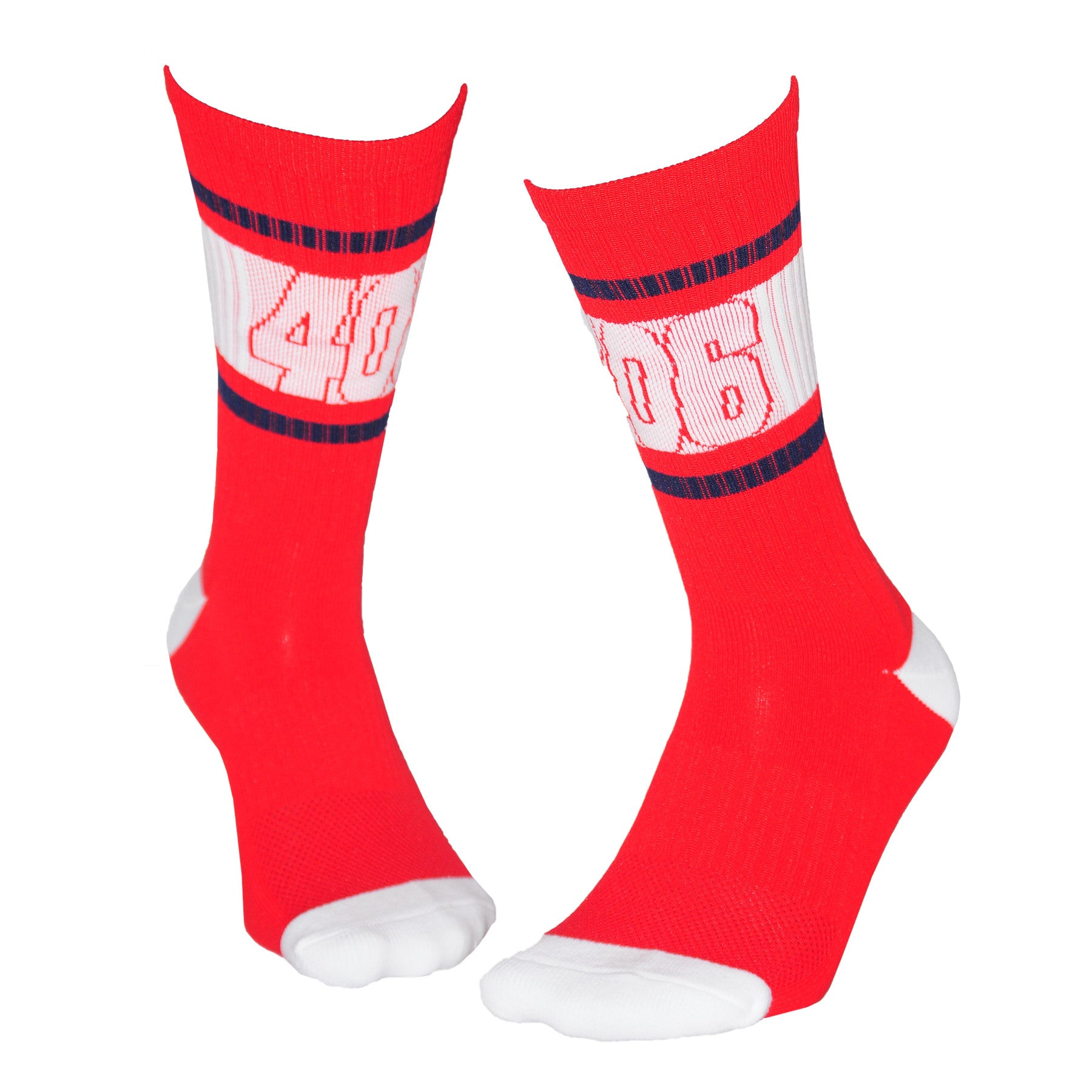 406 Athletic Crew-USA Red