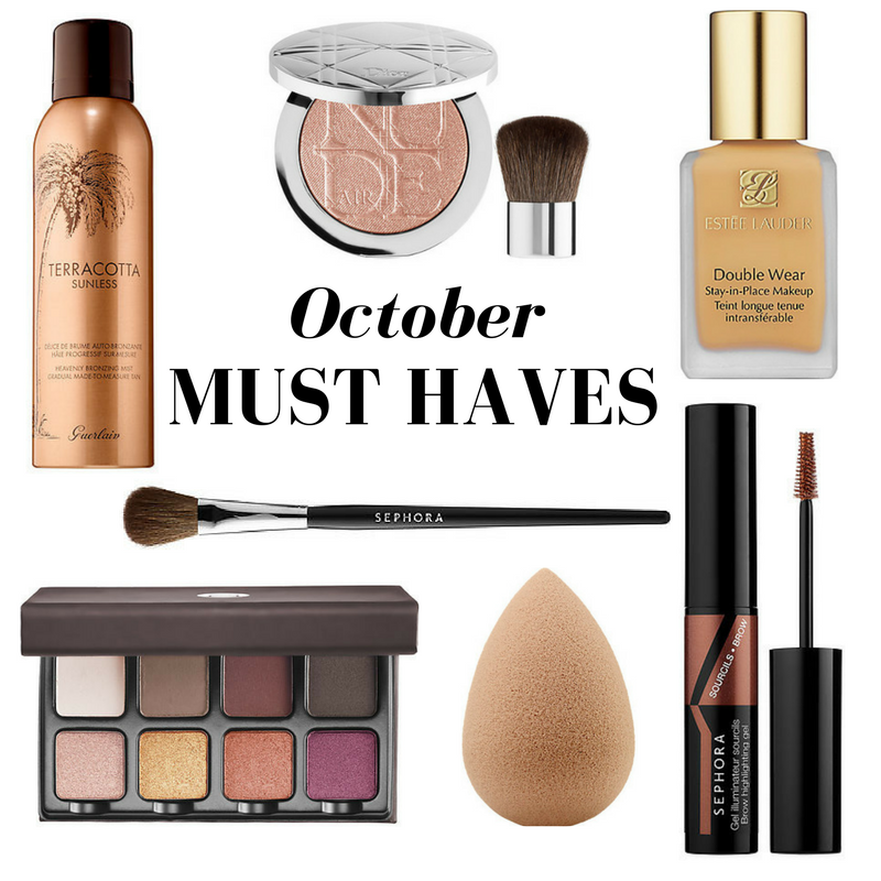 OCTOBER MUST HAVES