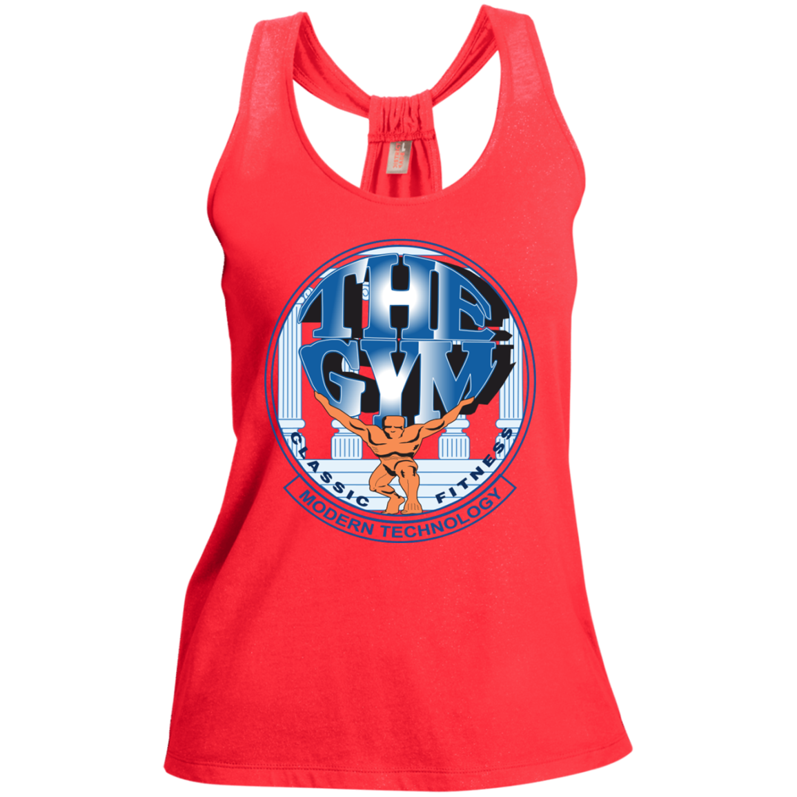 Ladies Shimmer Loop Back Tank