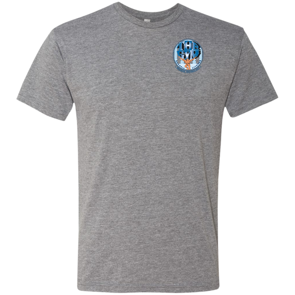 Men's Triblend T-Shirt Front Logo
