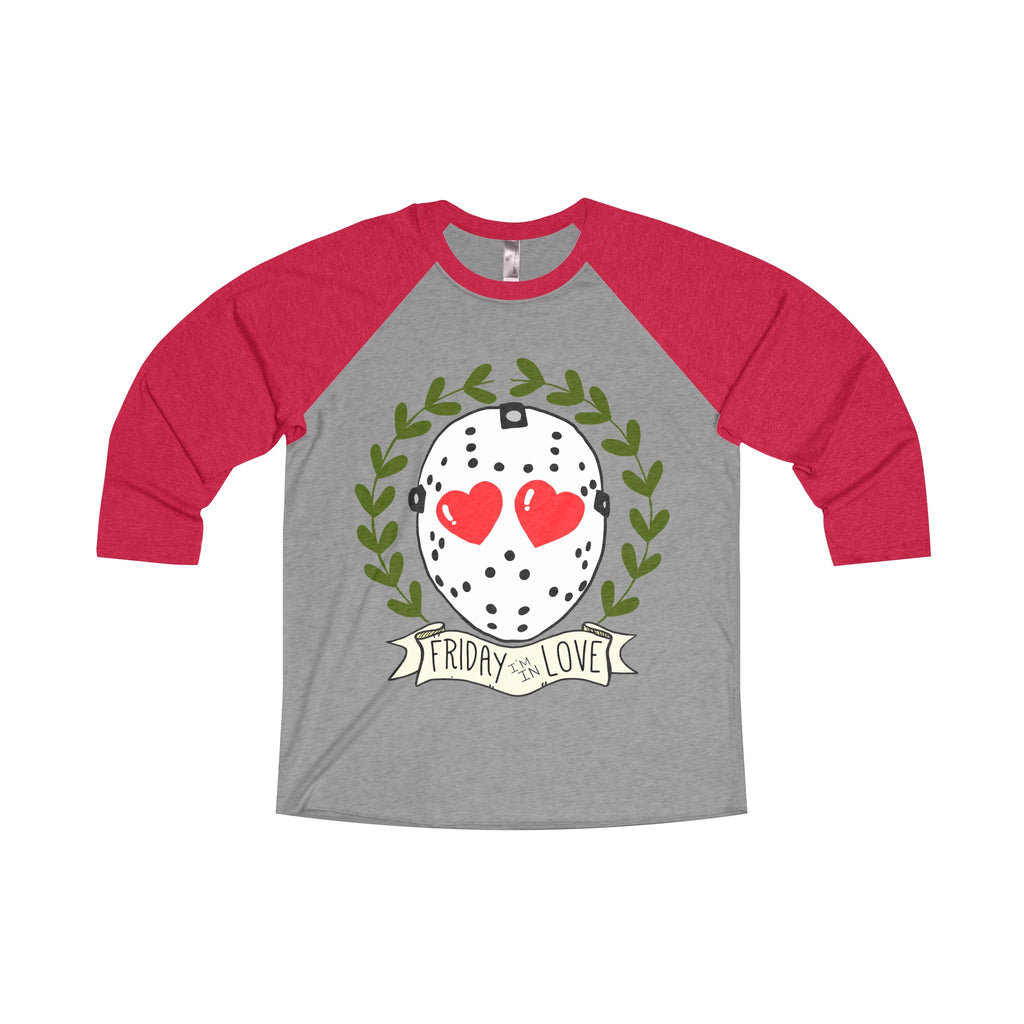Friday the 13th I'm in Love Raglan